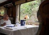 Ve vlaku Hiram Bingham