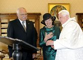 Státní návštěva prezidenta republiky ve Vatikánu