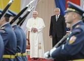 Přivítání papeže Benedikta XVI.