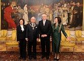 Po udělení Řádu bílého lva prezidentu Kaczyńskému