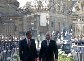 Uvítání Baracka Obamy