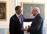 Setkání s americkým prezidentem na Pražském hradě
