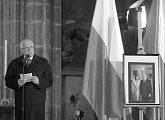 Projev prezidenta republiky na zádušní mši za zemřelé u Smolenska