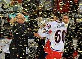 Prezident poblahopřál mistrům světa v ledním hokeji