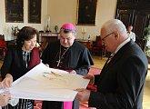 Návštěva Arcibiskupského paláce v Praze