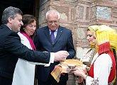 Tradiční vítání chlebem a solí