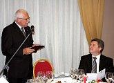 Státní večeře na počest českého prezidentského páru