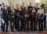 Setkání se stříbrnými basketbalistkami