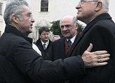 Setkání s prezidentem Rakouské republiky Heinzem Fischerem