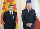 Státní návštěva prezidenta Makedonie v ČR