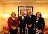 Setkání s guvernérem provincie Santa Cruz
