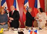 Oběd na pozvání chilského prezidentského páru