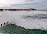 Vlny na Bondi Beach