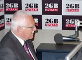 Interview pro prestižní rozhlasovou stanici 2GB