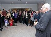 Setkání s českými krajany v rezidenci velvyslance