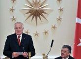 Státní večeře na pozvání tureckého prezidenta