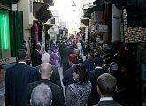 Procházka uvnitř medíny člověka rychle přenese do arabského světa
