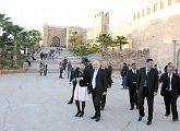 V pevnosti Chellah v Rabatu