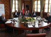 Jednání prezidentů tří sousedních zemí
