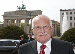 Prezident před Braniborskou bránou, foto: Marc Darchinger
