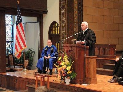 Můj projev na univerzitní Convocation