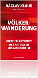 """Kniha Die deutsche Ausgabe des Buches """"Völkerwanderung – Kurze Erläuterung der aktuellen Migrationskrise"""""""