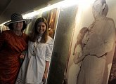 Livia Klausová s vnučkou brazilského prezidenta českého původu Kubitscheka