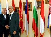Setkání středoevropských prezidentů