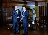 Setkání s prezidentem Ruské federace Dmitrijem Medveděvem