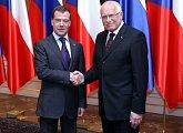 Prezident Ruské federace poprvé na Pražském hradě