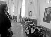 Poslední rozloučení paní Livie Klausové s polským prezidentským párem
