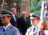 Státní návštěva prezidenta Lotyšské republiky v ČR