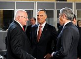 President Klaus with Portugese President Cavaco Silva and Portugese PM José Sócrates