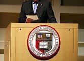 Přednáška na Cornellské univerzitě