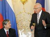 Pracovní návštěva prezidenta Slovinské republiky v ČR