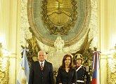 S prezidentkou Argentiny Cristinou Kirchnerovou