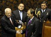 Jednání v Senátu Národního kongresu Chilské republiky
