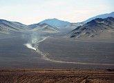 Cesta pouští na vědeckou základnu Paranal