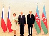 Státní návštěva Ázerbájdžánské republiky