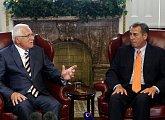 Jednání s předsedou Sněmovny reprezentantů Kongresu USA Johnem Boehnerem
