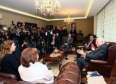 Setkání s guvernérem provincie Mersin
