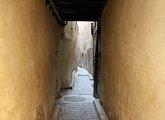 Uličky starého města ve Fezu