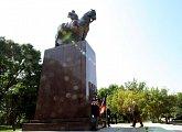 T. G. Masaryk má v Chicagu památník v provedení jezdecké sochy rytíře ve středověkém brnění