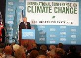 Na konferenci Heartland Institutu o globálním oteplování
