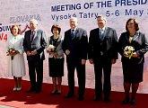 Setkání prezidentů Slovenské, České a Polské republiky ve Vysokých Tatrách