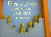 V Domě Diega Rivery a Fridy Kahlo