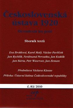 Sborník Centra pro ekonomiku a politiku č. 83/2010