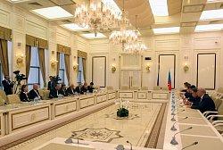 Jednání v Ázerbájdžánském parlamentu